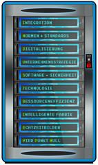 sf63 ServerFront - Serverschrank Industrie 4-0 Netzwerk - g3521