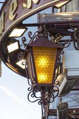 External yellow lamp