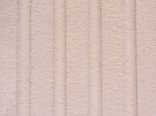 Exterior Grooved Wall