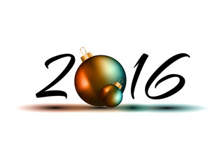 2016 Happy New Year Celebrating background