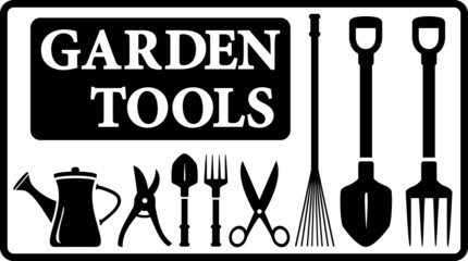 garden tools collection