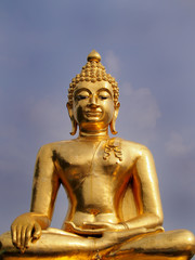 Big Buddha in North Thailand, Golden triangle