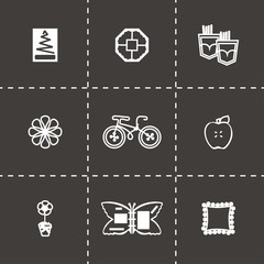 Vector Handmade icon set