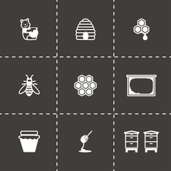 Vector Honey icon set