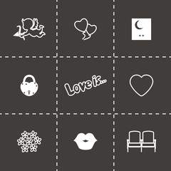 Vector Love icon set