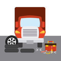 truck change tires