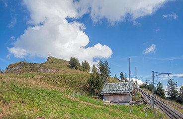View on the Mt. Rigi