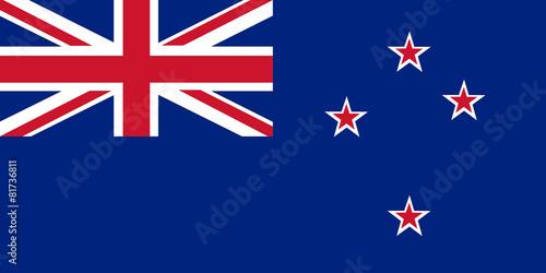 Flagge Neuseeland - 81736811