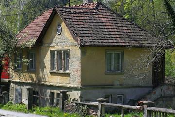 Verlassene Wohnhaus