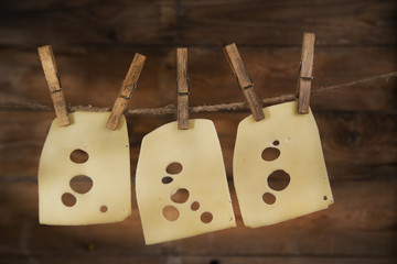 Slices of Emmental