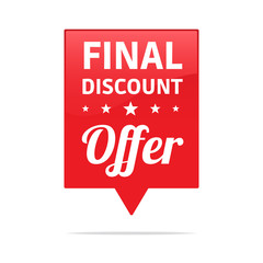 Final Discount Offer Tag
