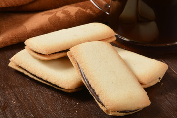 Gourmet cookies and coffee