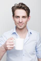 Man & coffee