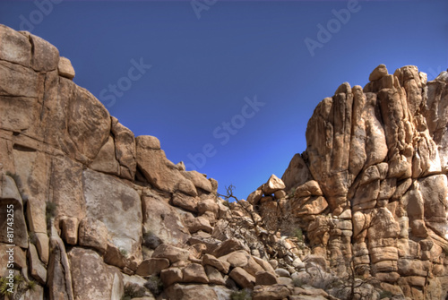 Foto op Canvas Droogte Boulder Mountains