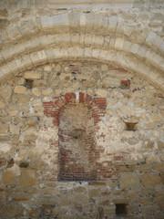 古い教会の壁 san juan capistrano