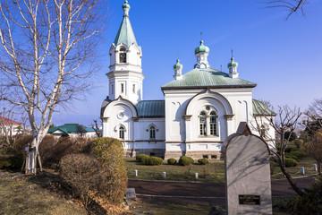 函館元町の函館ハリストス正教会