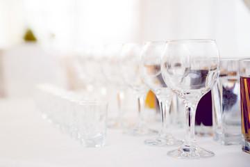 Glasses for vine and vodka