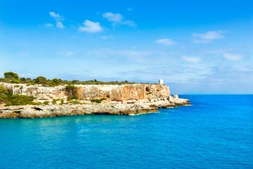 Majorca Cala Figuera in Santanyi Mallorca Balearic