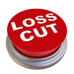 Loss cut. Red button labeled