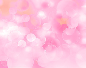 abstract background pink and fresh bokeh