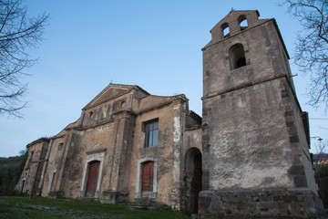 Roscigno is an old abandoned village