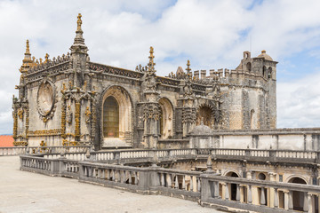 Knights of the Templar (Convents of Christ) castle detail, Tomar
