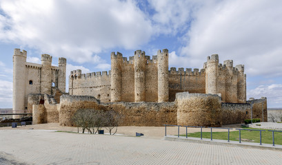 Castle at Valencia de Don Juan, Castilla y Leon