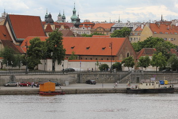 Prague old town panorama 7450