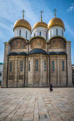 The Cathedral of the Dormition in Moscow Кremlin, Russia