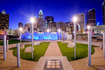 Charlotte, North Carolina, USA Park