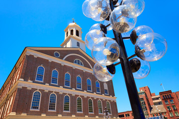 Boston Faneuil Hall in Massachusetts USA