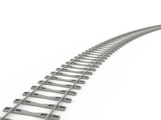 Railway track lines  Raster  Rail