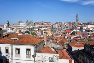 Cityscape of Porto in Portugal