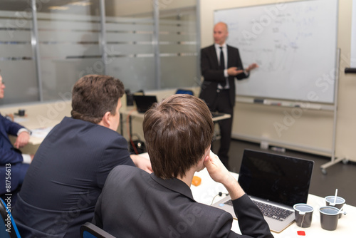 Audience at the conference room. - 81756613