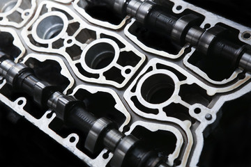 cover of block of petrol engine