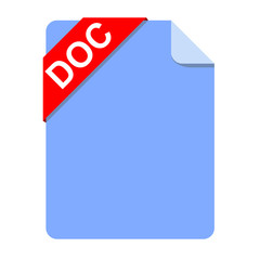 Icono documento extension DOC