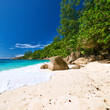 Beautiful Anse Intendance beach at Seychelles