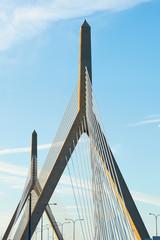 Zakim Bunker Hill Memorial Bridge in Boston