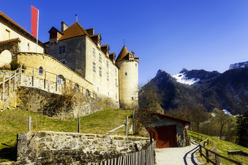 Gruyeres castle, Switzerland