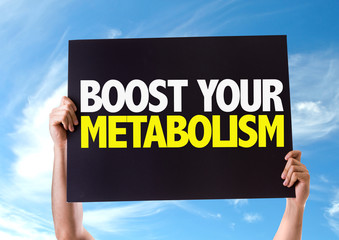 Boost Your Metabolism card with sky background
