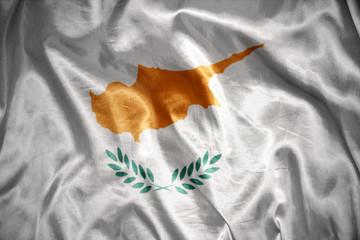 shining cypriot flag