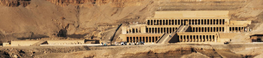 Egypt. Luxor. Deir el-Bahari. The Mortuary Temple of Hatshepsut