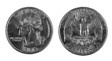 one quarter coin