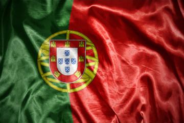 shining portuguese flag