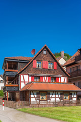 Fachwerkensemble mit Burg Liebenzell