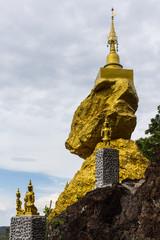 Pratad Inkwan ,pagoda in Lamphun Thailand