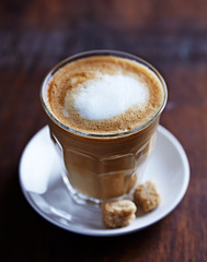 Cafe au Lait with Brown Sugar
