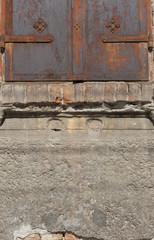 rusty shutters