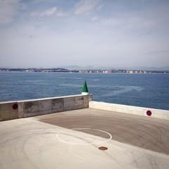 heliport in Tarragona, Spain