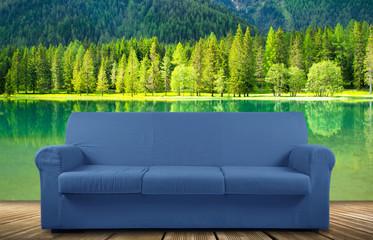 divano vacanze lago relax